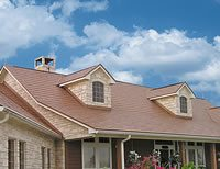 Wichita sky and metal roof