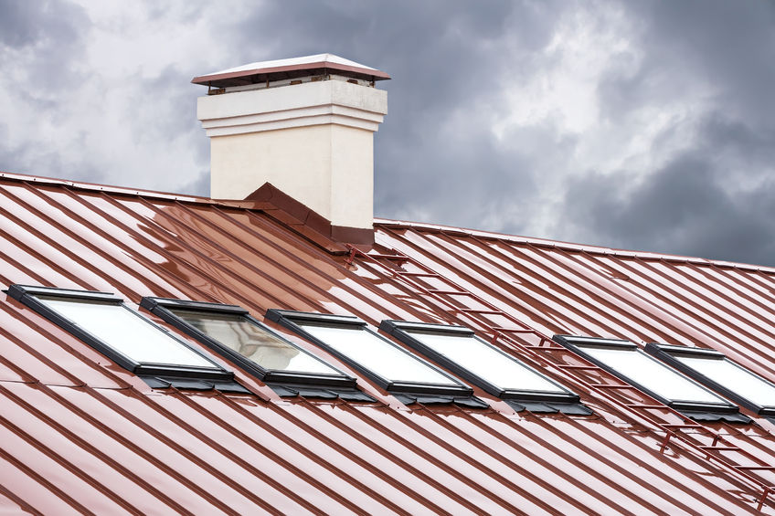 Roof Flashing In Use Chimneys Skylights Dormers And