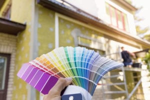 Match Topeka Roofing With Exterior Paint